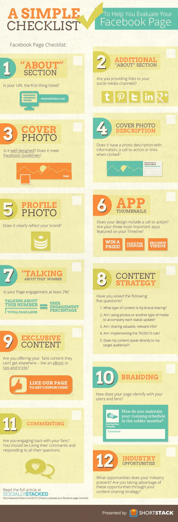 12 Passos para Avaliar Sua Fanpage do Facebook