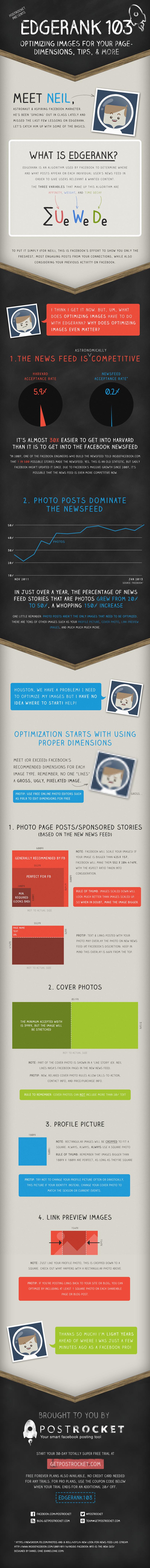 EdgeRank 103 - Como Otimizar imagens para o Facebook