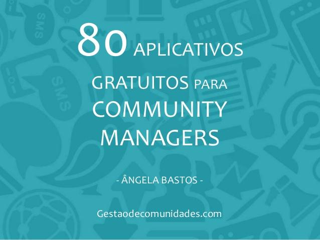 80 Aplicativos Gratuitos para Community Managers