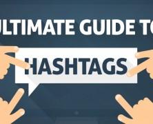 Infográfico: Guia Completo de Hashtags
