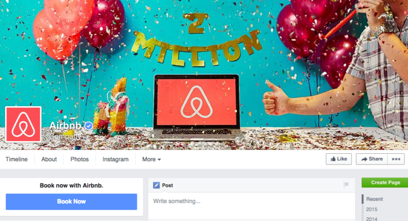 Facebook-Novo-Layout-Airbnb