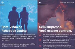 Apresentação do Facebook Dating