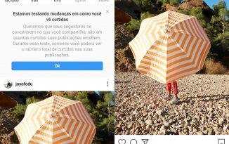 Instagram remove contagem de curtidas no feed.