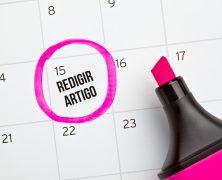 A importância de um calendário editorial